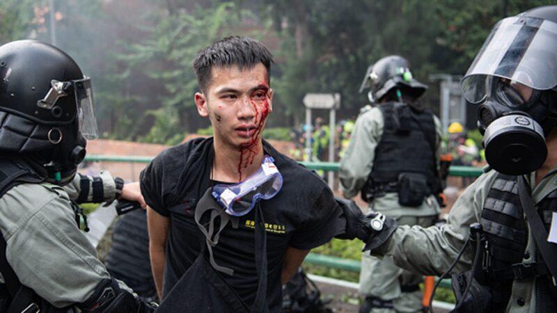 组图:香港理大抗争者绝地求生 3次突围被抓