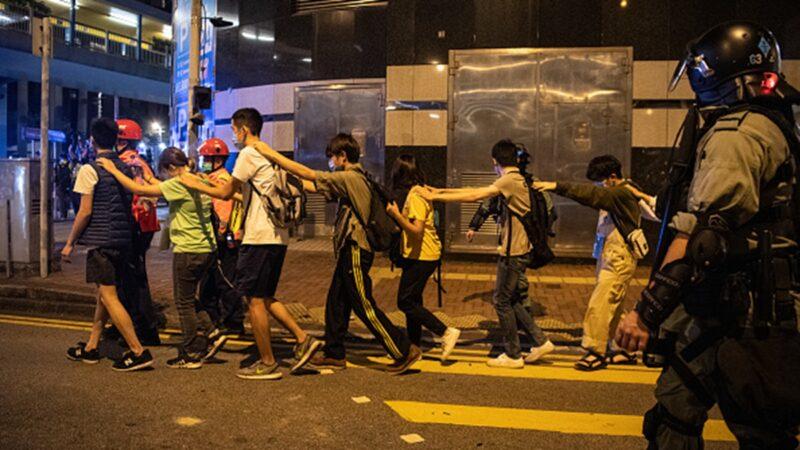 香港精神病院戒严 疑押送大批反送中抗争者