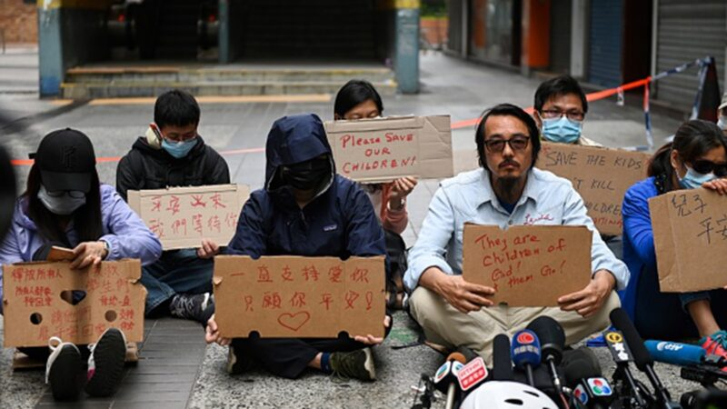 香港妈妈对被困孩子的叮咛 出人意料(视频)