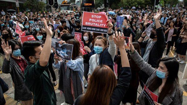 香港抗爭者:對抗剛剛開始 中共必須倒台