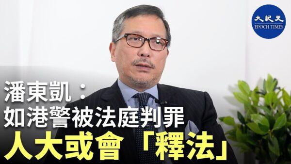 """【珍言真语】潘东凯:如警察被香港法庭判罪,人大或会""""释法""""为其脱罪"""