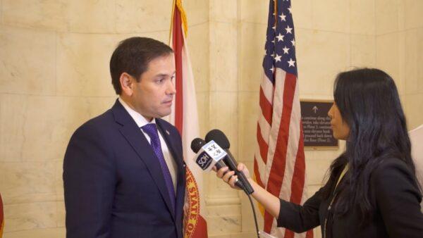 【萧茗看世界】香港人权与民主法案通过 我采访卢比奥议员 他说这是美国内政