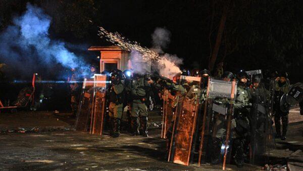 """香港警察暴力升级 欧盟公开警告""""全面调查"""""""