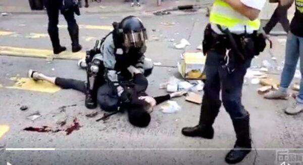 港警枪击手无寸铁青年  美CECC主席吁参院审议香港人权法案