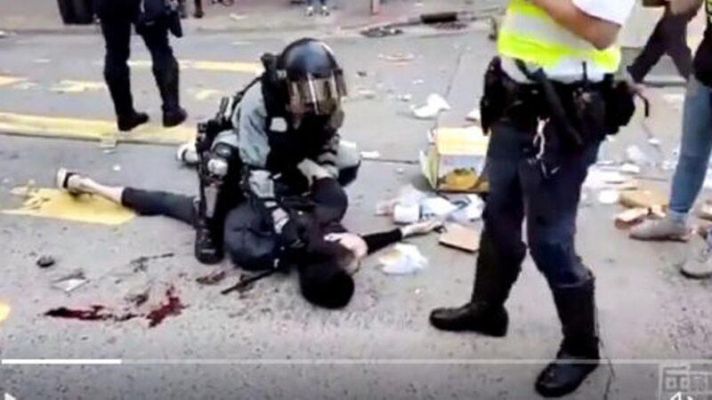 港警槍擊手無寸鐵青年  美CECC主席籲參院審議香港人權法案