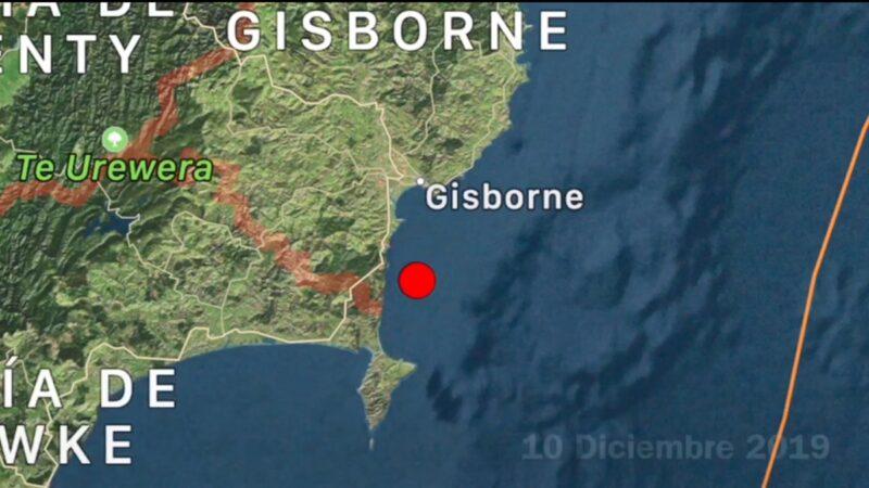 新西兰火山爆发后 北岛发生5.3级地震