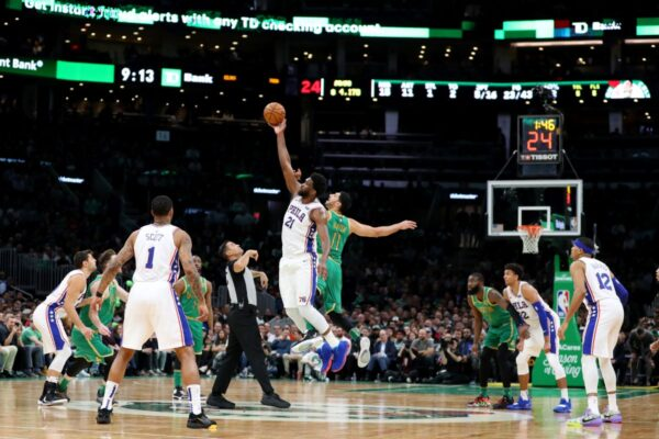 NBA安比德客場逞威 76人拿下綠衫軍