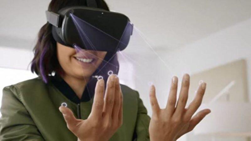 Oculus Quest手势跟踪 不再需要控制器