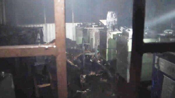 觸目驚心 孟加拉工廠慘遭惡火肆虐至少10死