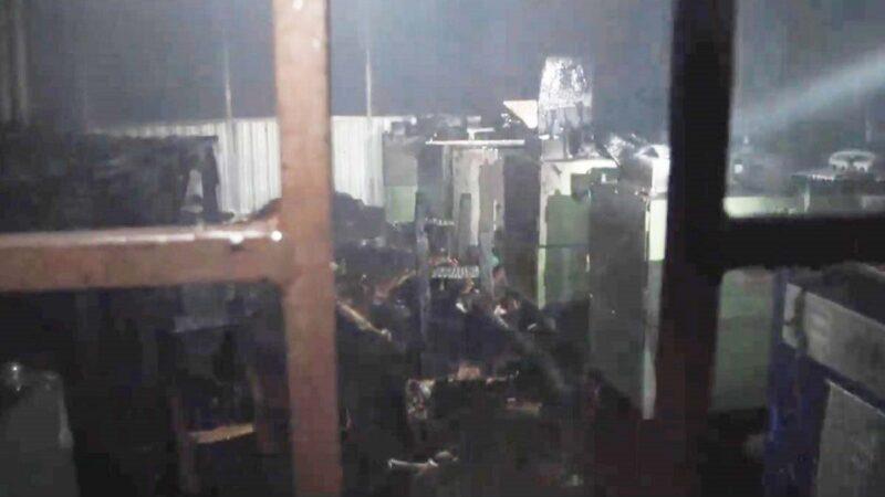 触目惊心 孟加拉工厂惨遭恶火肆虐至少10死