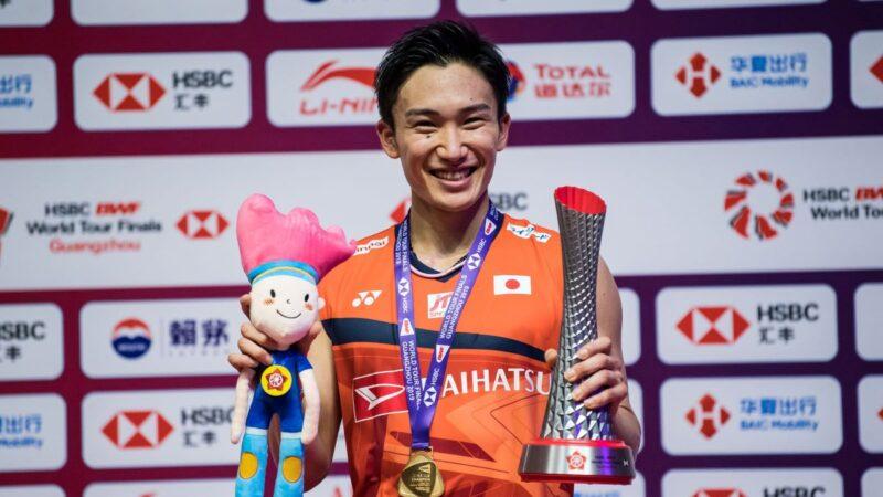 日本人桃田贤斗时隔4年重夺羽毛球总冠军