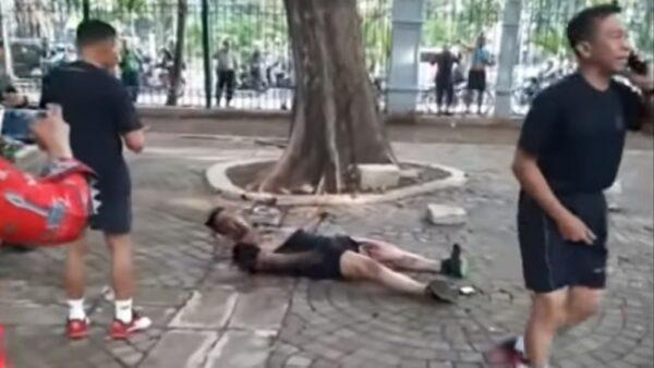 印尼总统府附近爆炸 2军事人员受伤