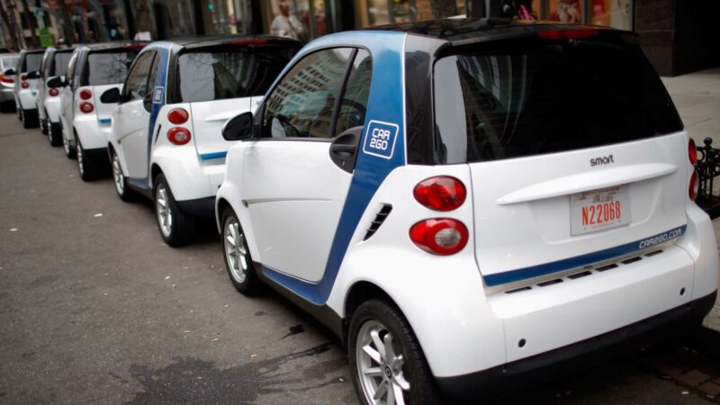 戴姆勒和宝马 撤出北美共享车市场