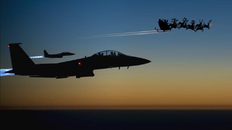追踪圣诞老人 北美防空司令部启动超级任务