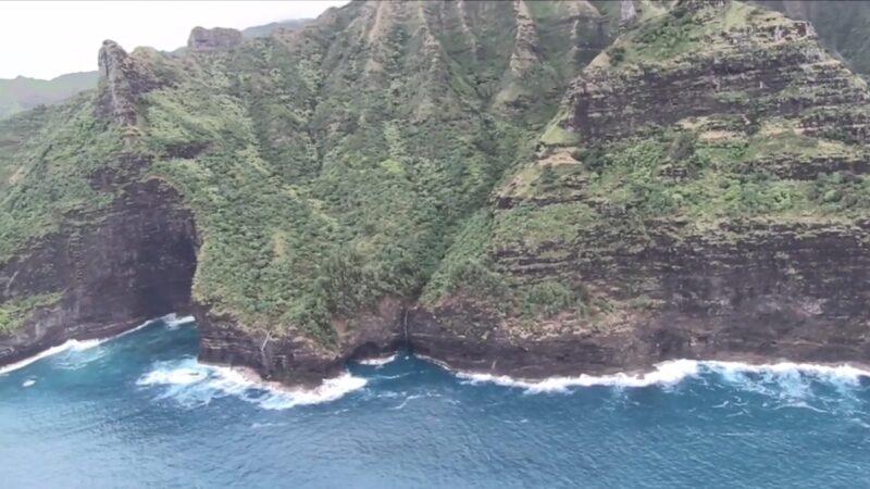 夏威夷直升机失事 找到机身残骸及6具遗体