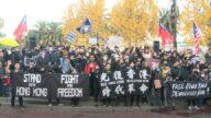 國際人權日 舊金山集會遊行撐港人維權