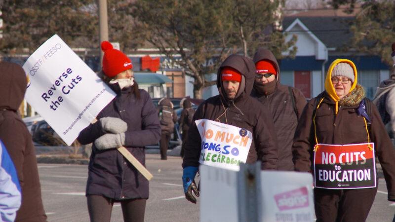 談判停滯 安省中學教師將第三次罷工