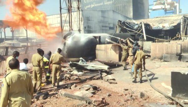 氣槽車爆炸引大火 蘇丹瓷磚廠釀23死逾130傷(視頻)