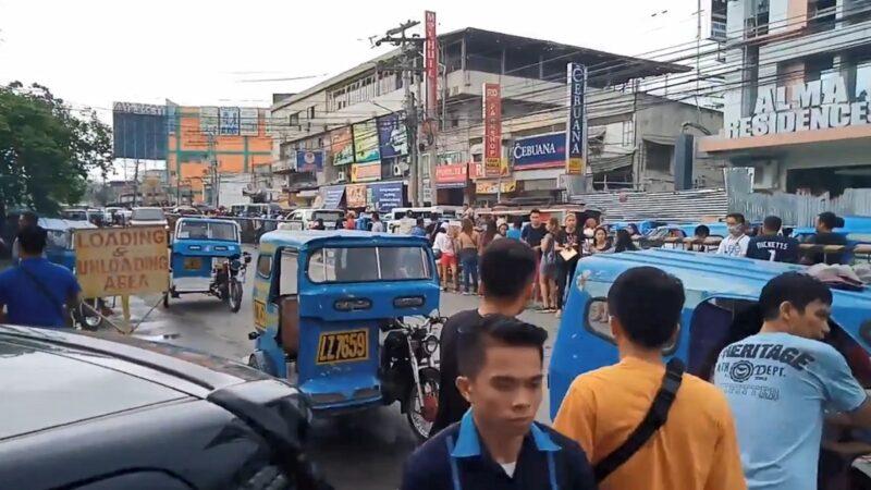 菲律賓南部6.8強震 傳建築倒塌傷亡災損未明(視頻)