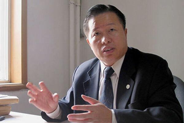 陳光誠:強烈呼籲中共當局立即還高智晟律師自由