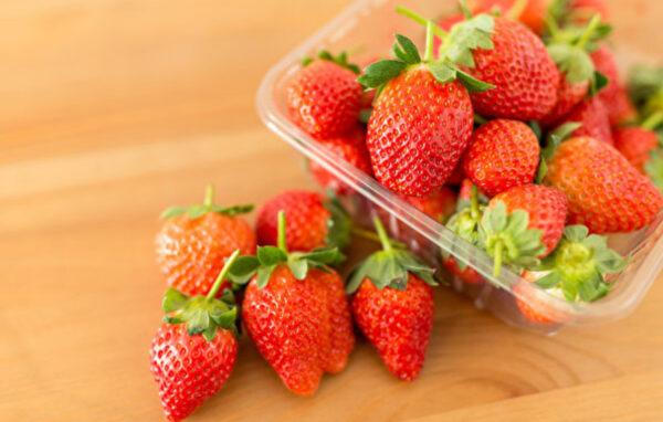 草莓護膚控血糖 這樣清洗不讓營養流失(組圖)