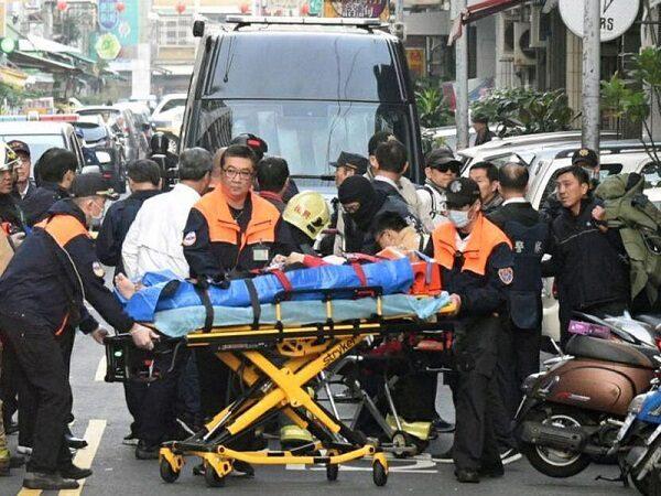 国民党后壁党部遭放不明物体 警3波攻坚嫌犯中弹送医