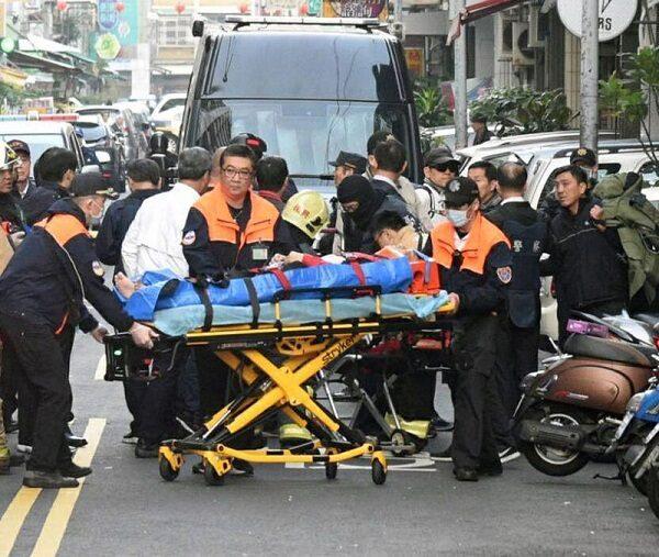 國民黨後壁黨部遭放不明物體 警3波攻堅嫌犯中彈送醫