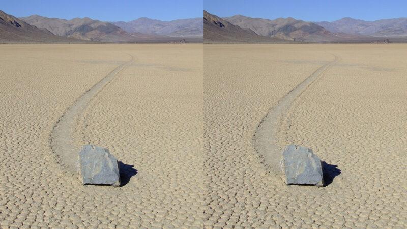 天造地設 死亡谷「走路的石頭」