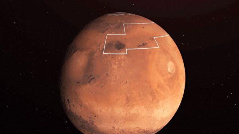 火星新发现:表面一英寸以下有水
