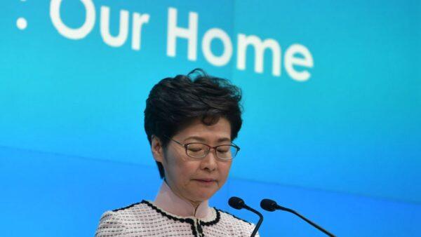 林鄭提醒民眾保暖 港人嘲諷:香港已進入嚴冬