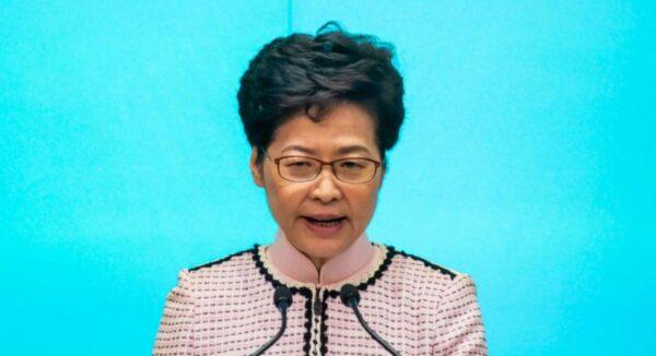 香港泛民立法會議員提案 彈劾特首林鄭
