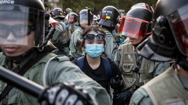 德国大报:中共威胁超疫情 香港就是西柏林