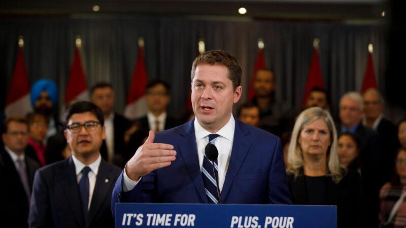 加国联邦保守党熙尔 辞去党领一职