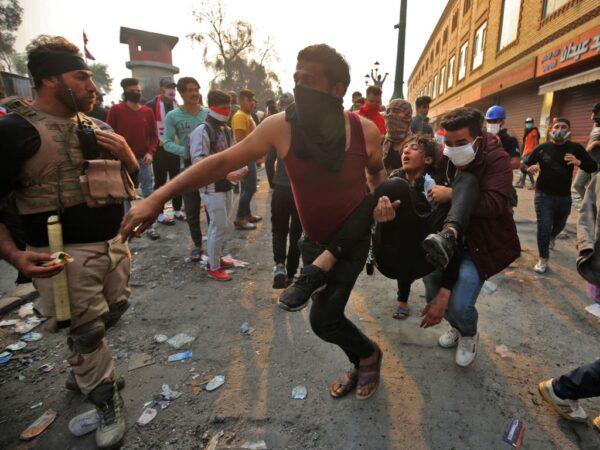 涉暴力镇压群众 美制裁伊拉克3民兵领袖