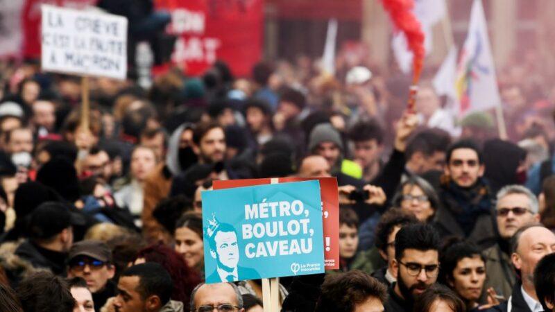 年金改革争议罢工逾3周 法政府与工会互控罪魁祸首
