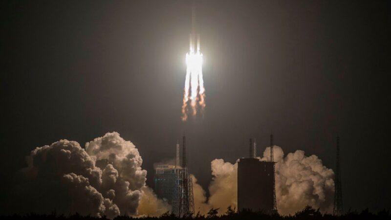 长征五号发射失败影片曝光 重创中共航天计划