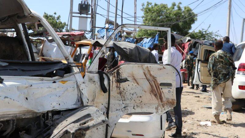 重大汽车炸弹攻击 索马利亚首都逾20死90人伤