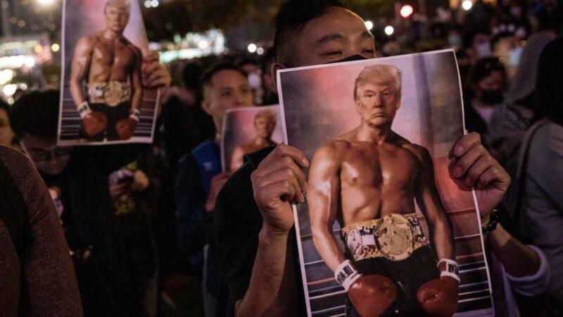 中共报复香港人权法 宣布制裁美国非政府组织