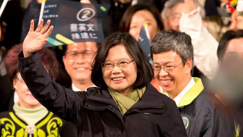 台学联模拟投票:蔡英文狂扫85% 韩国瑜4.7%