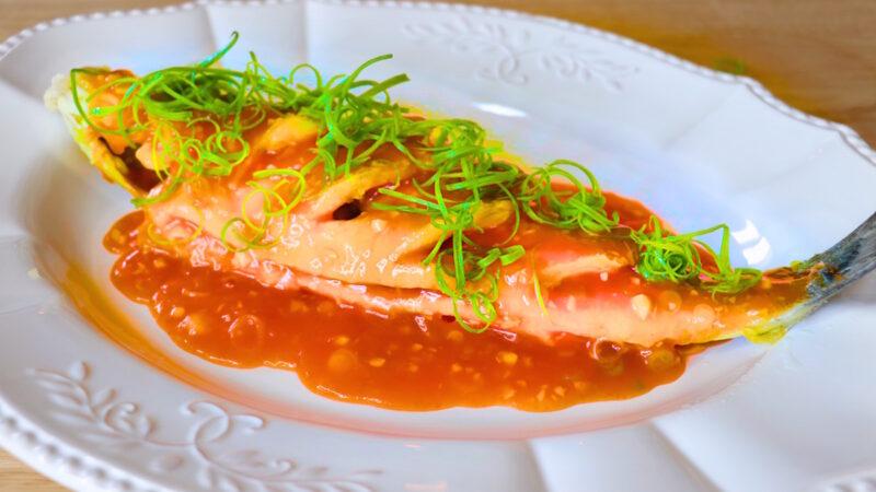 【美食天堂】糖醋鱼食谱 酥脆香 祝福圣诞节和新年快乐 家常料理食谱 一学就会