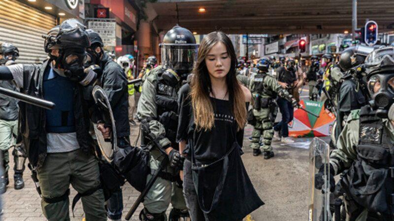 """香港女孩变身""""勇武"""" 讲述理大围城恐怖经历"""