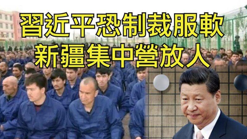 【江峰时刻】习近平恐制裁服软 新疆集中营放人
