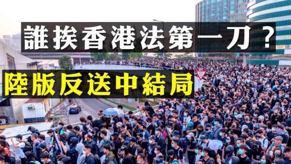 【拍案驚奇】走夜路大喊壯膽 北京港府棒打香港人權法 說明什麼?38萬人遊行 太子站衝突重現