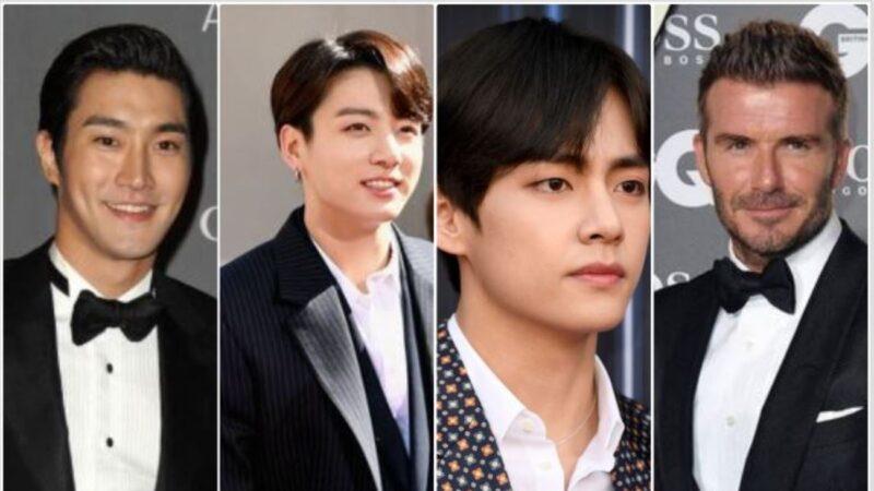 2010至2019全球帅哥榜 BTS泰亨与柾国入前5名