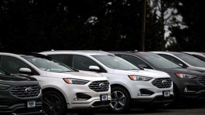 房車需求疲軟 福特美國銷量去年跌3.2%