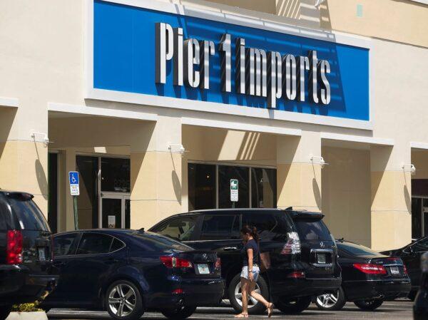 美國零售商Pier 1將關閉450家門店