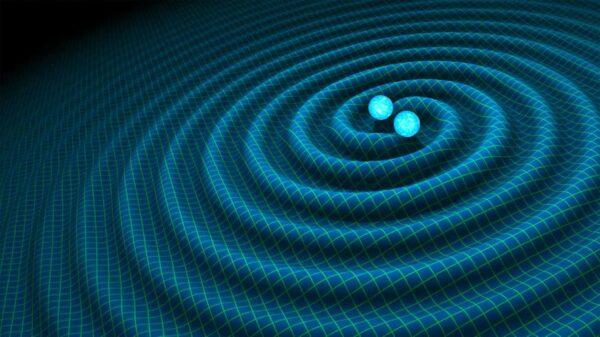 兩個巨大中子星猛烈對撞 引發强力引力波
