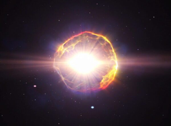 当太阳变成超新星 地球上的生命将经历什么?