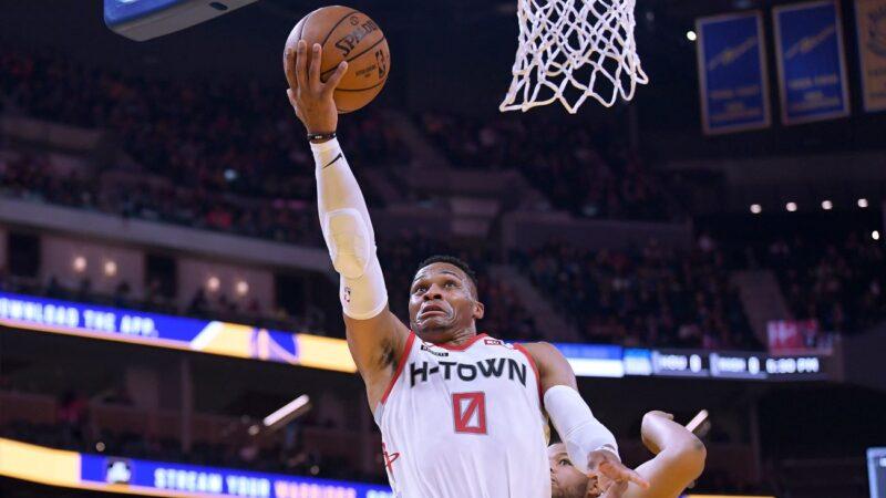 NBA威斯布魯克34分無用 火箭遭雷擊