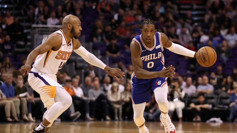 NBA理察森挺身而出 76人送绿衫军3连败